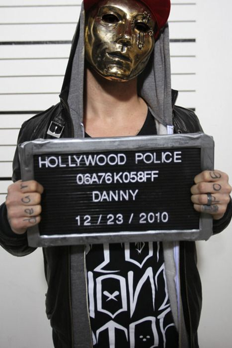 danny from hollywood undead my musical idol <3 from 2010 tho haha loving the new album so far day of the dead only one song tho