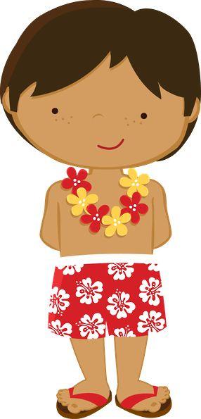 Niño hawaiiano.