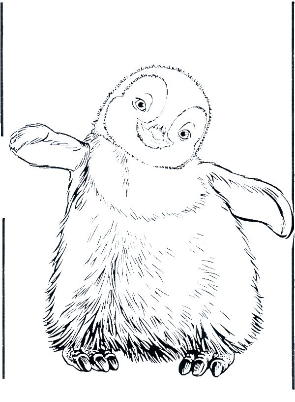 Penguin Coloring Pages - GetColoringPages.com  |Christmas Baby Penguin Coloring Pages
