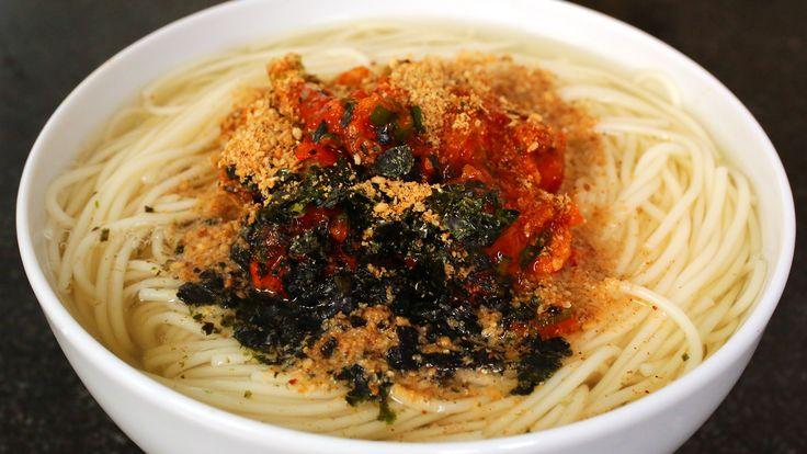 Korean noodle soup (Guksu) recipe - Maangchi.com
