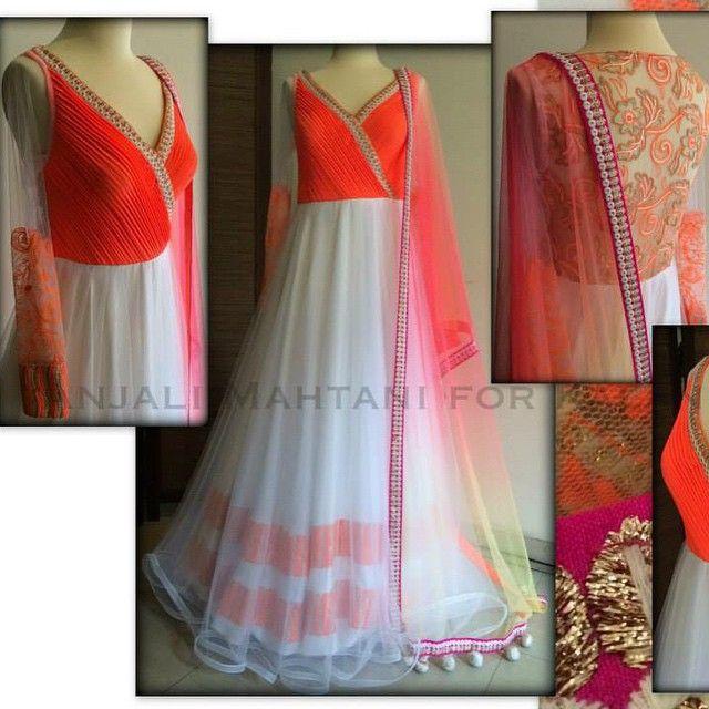 Anjali Mahtani #orange