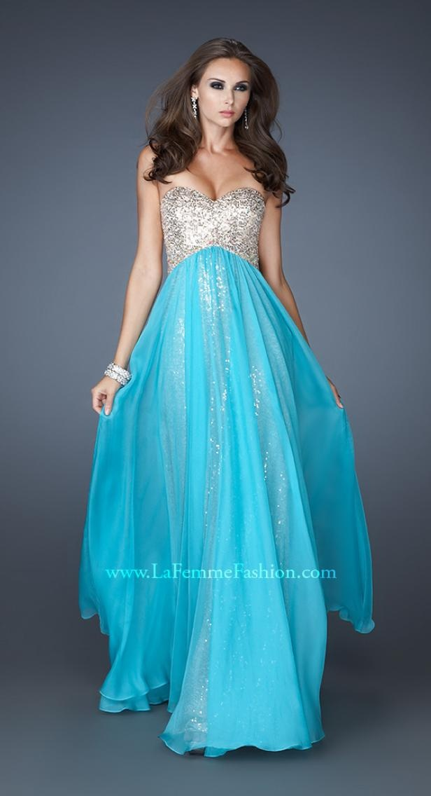 La Femme 18898 | Long Prom Dress | Terry Costa: Prom Dresses Dallas, Homecoming Dresses, Pageant Gowns $450