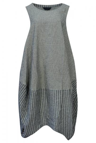 mo160013 S/S16 Moyuru Sleeveless Dress | Walkers.Style