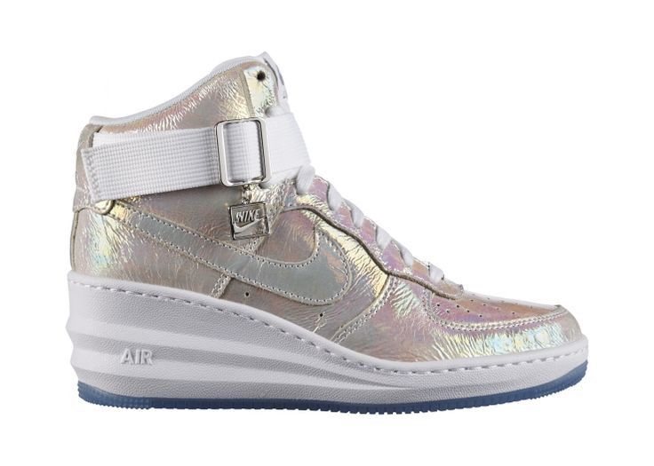 sports shoes d2632 ecd1a ... Nike Lunar Force 1 Sky Hi - OPTIMUM CUSHIONING WITH A BOOST Note  Limit  of  NIKE Force Sky High Wedge Sneaker ...