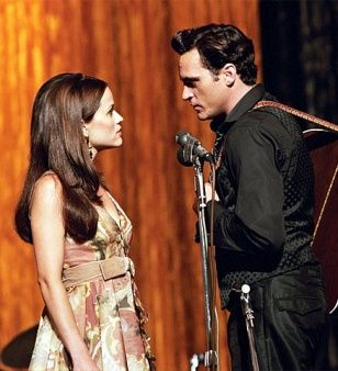 Walk the Line - June Carter (Reese Witherspoon) told Johnny Cash (Joaquin Phoenix) that the only time he was allowed to speak to her was when they were onstage, she probably didn't have a public proposal in mind!