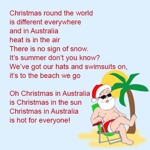 Poem About A Christmas Tree: Image Result For Australian Christmas Poems Funny