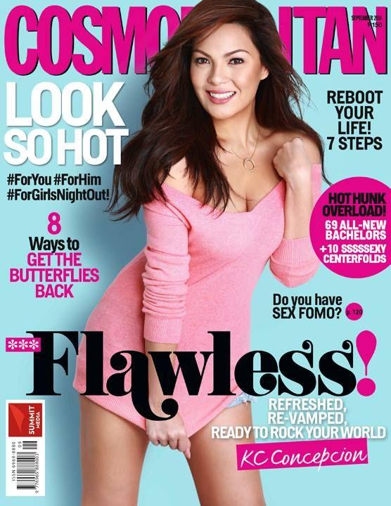 KC Concepcion for Cosmopolitan Philippines September 2014