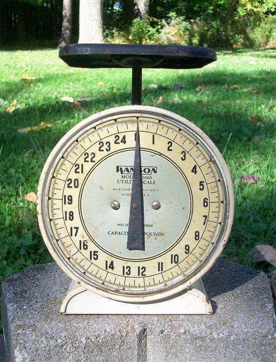 Vintage Hanson Model 2000 Utility Scale 25 by Raidersoflostloot