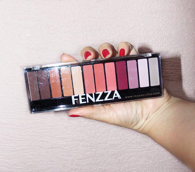 Masso Vita: Paleta de sombras 12 cores matte da Fenzza
