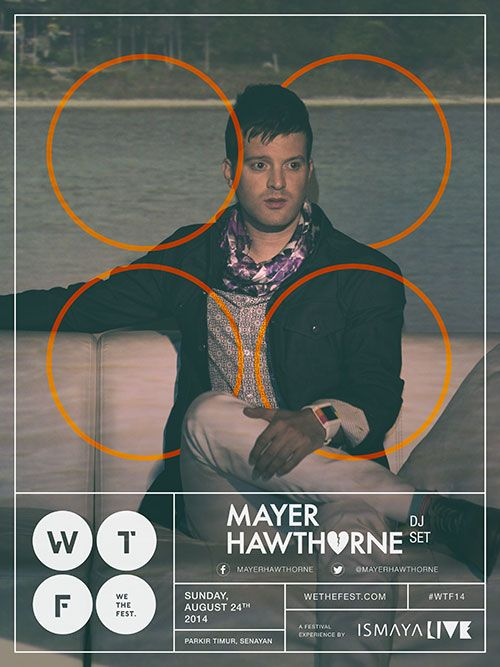 We The Fest presents MAYER HAWTHORNE