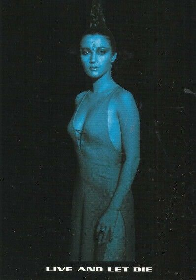 *m. Jane Seymour as Solitaire in Live And Let Die. 8 of 19 ...