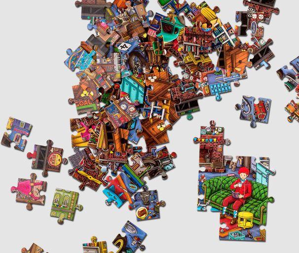 Pusseldeckaren Pierre – Puzzle 200 pieces