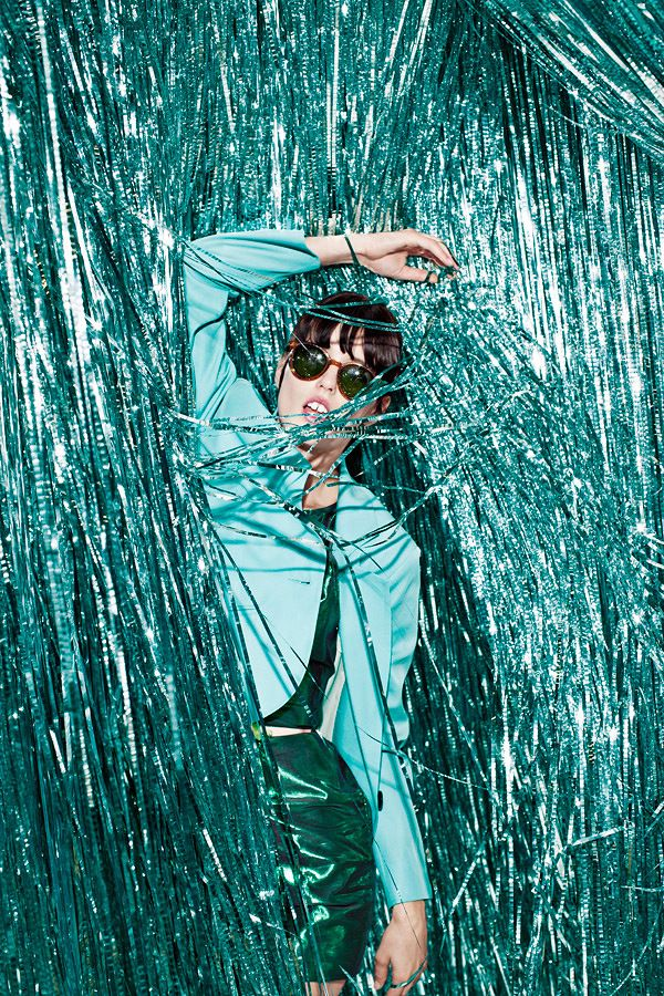 & Other Stories | SS/15 Inspiration  Tinsel Town, Fashion Feature shot for Foam Magazine, 2012. JUCO.
