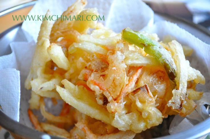 Korean Vegetable Fries - Yache Twigim