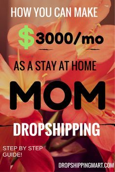 In this #guide, we will discuss the ins and outs of dropshipping. Readers will come to understand the importance of marketing a niche, finding a place within the market, and time management. Eventually, readers will learn how to profit from #dropshipping and the methods to take in the process. #workfromhomemoms