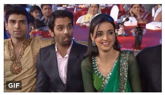 Barun and Sanaya #StarParivaarAwards