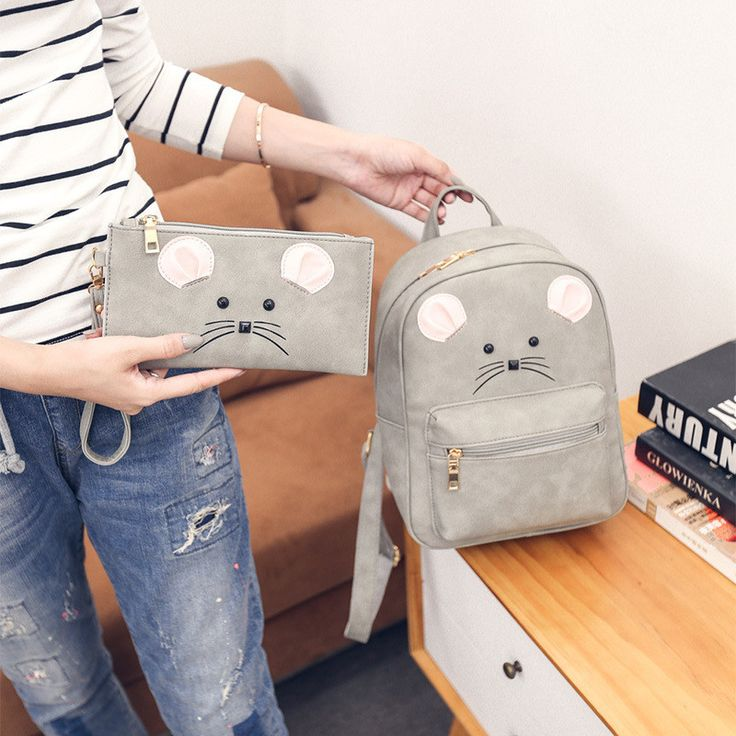 2 in 1 Designe Women PU Backpacks Cat Eyes Animal Printing School Bags For Teenagers Girl Rucksack Laptop Bagpack rucksack women