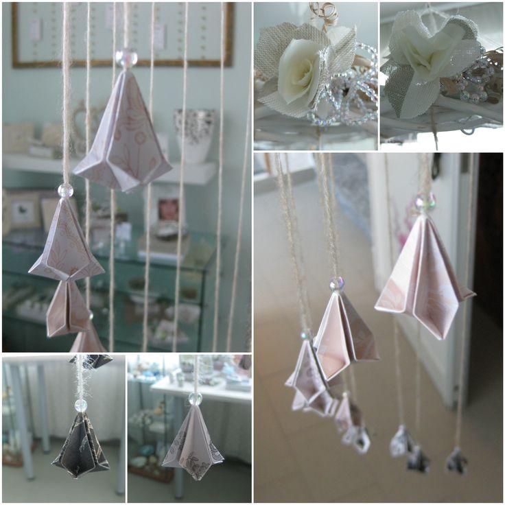 """ORIGAMI SHABBY - IDEE MATRIMONIO - """"Ambra Inventa. Idee dal mondo delle bomboniere, del design e dell'arte"""