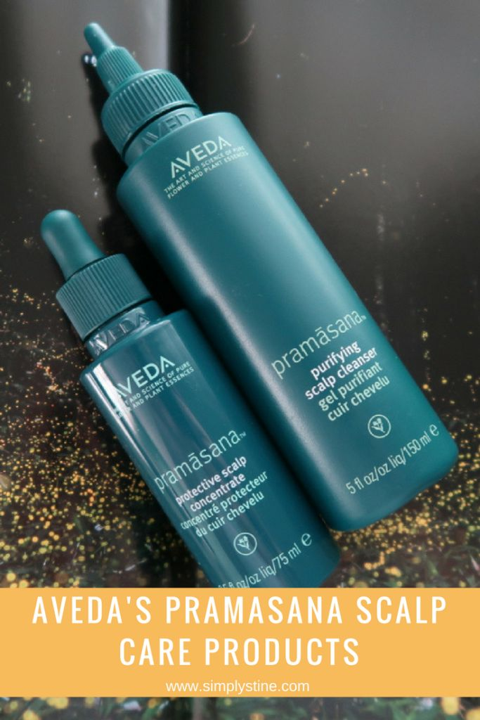 Aveda's New Pramasana Purifying Scalp Treatment and Cleanser | There's no need to suffer from a dry, itchy scalp when products like Aveda's Pramasana scalp cleanser and scalp concentrate are available! www.simplystine.com
