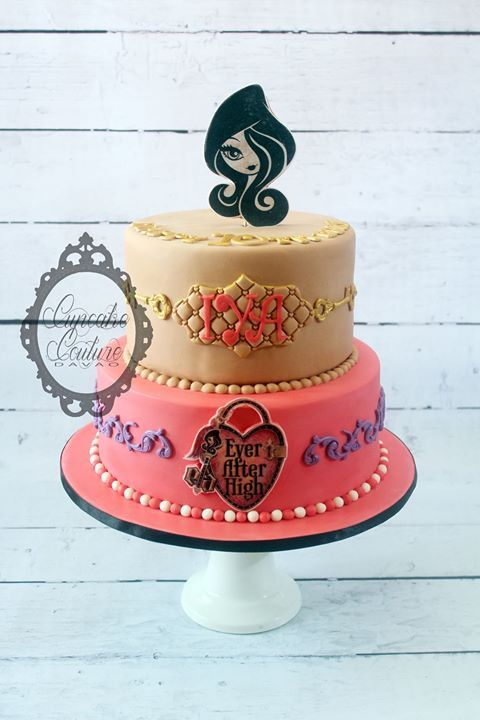 Ever After High Cake  www.facebook.com/cupcakecouturedavao