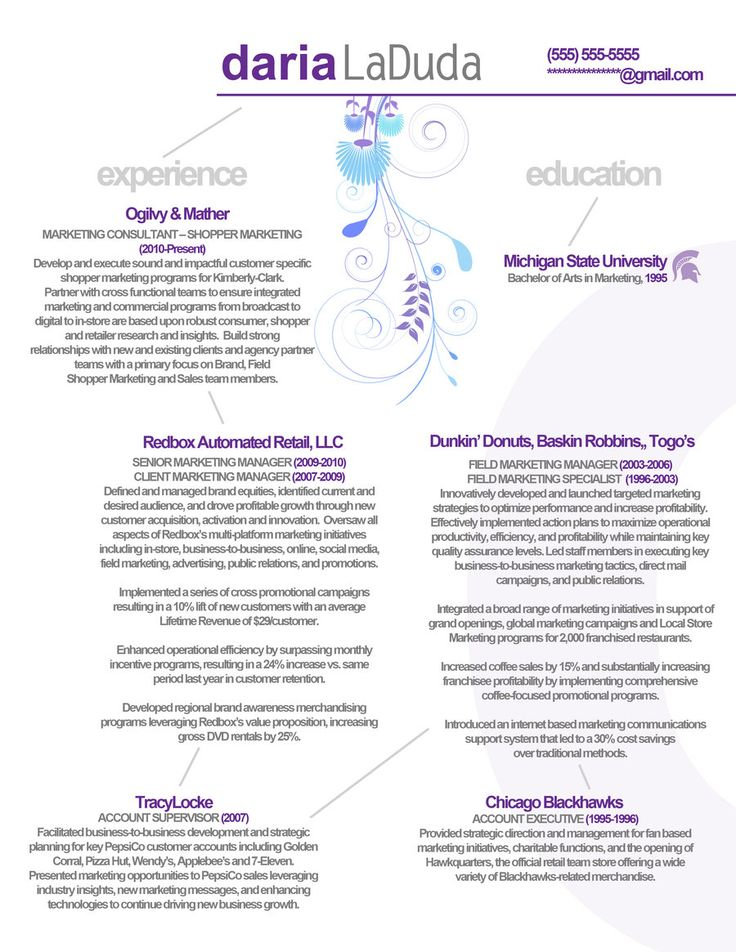 10 best resume templates that get results images on pinterest dunkin