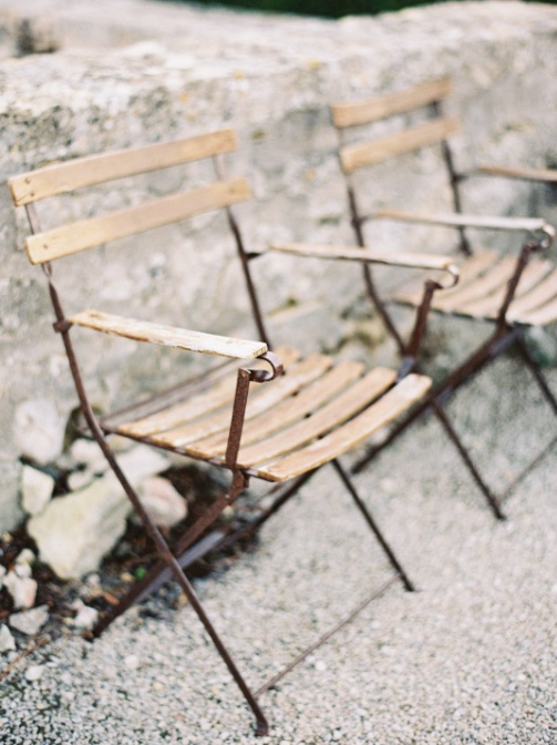 cafe chairs... | portofino wedding photography