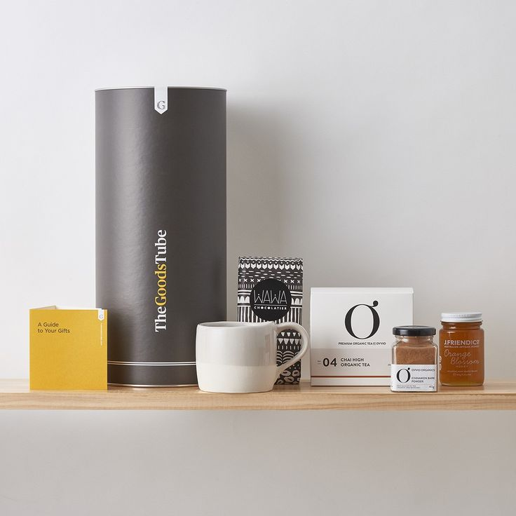 Chai & Chocolate Tube   Chai in a cup, honey to sweeten, cinnamon for fragrance, chocolate on the side. All glorious Australian products to celebrate your Mum this Mother's Day.