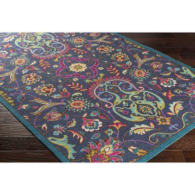 ryland hand hooked brownyellow area rug