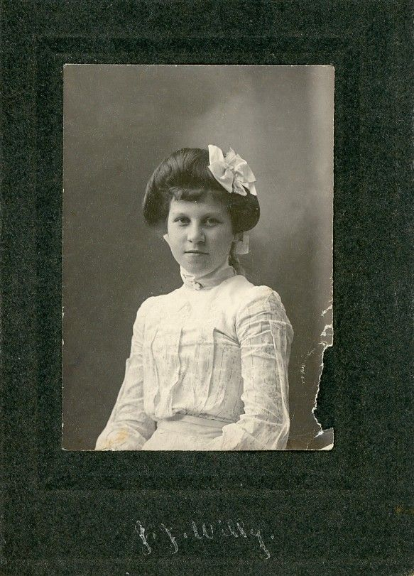 The Old Trunk in the Attic: Friday's Faces from the Past - by J. J. Willy