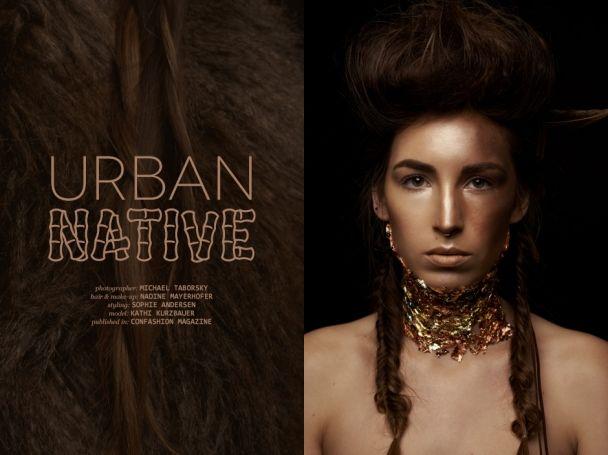 """Michael Taborsky: """"Urban native"""" http://www.confashionmag.pl/webitorial/artystyczny-czwartek-urban-native.html"""