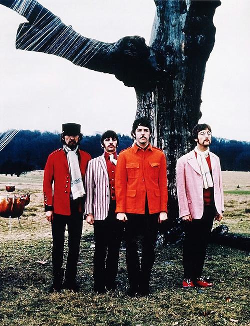 Strawberry Fields Forever | Paul McCartney, George Harrison, John Lennon, and Ringo Starr (Richard Starkey) | The Beatles♥️