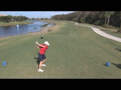 GOLF SWING 2012 - CATRIONA MATTHEW DRIVER - ELEVATED DTL & SLOW MOTION - HQ 1080p HD - YouTube