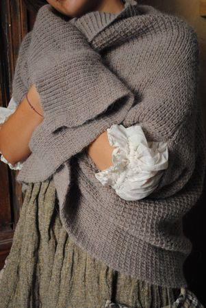 a winter wrap