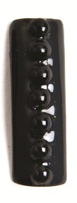 black Shellac nail art tutorial  www.nailsmag.com