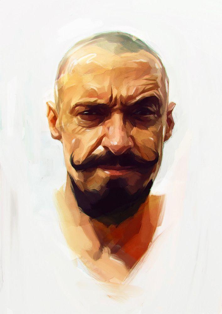 New Portraits by Viktor Miller-Gausa | Inspiration Grid | Design Inspiration