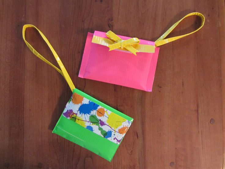 1000 images about girl scouts swaps on pinterest girl for Mini duct tape crafts
