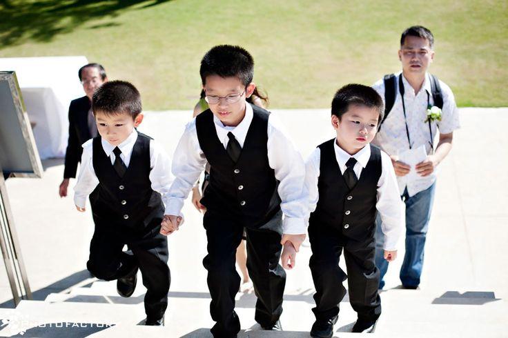 Little Groomsmen in style.