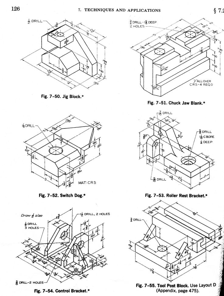 249 best Mechanical drawings / Blueprints / CAD Drawings