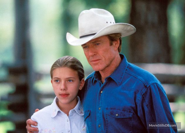 The Horse Whisperer (1998) Scarlett Johansson and Robert Redford