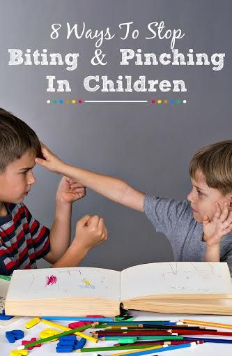 8 Effective Ways To Stop Biting and Pinching In Children