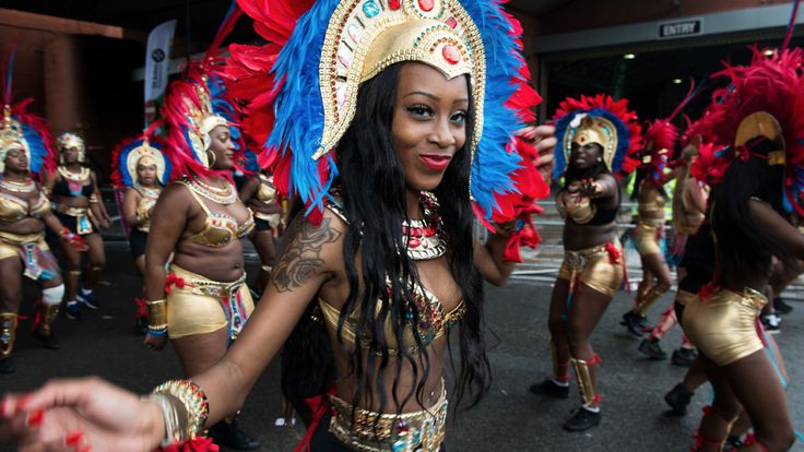 Notting Hill Carnival 2017 guide to Europe's biggest street party with travel information, afterparties, soundsystems, parade route, floats and Notting Hill Carnival family day