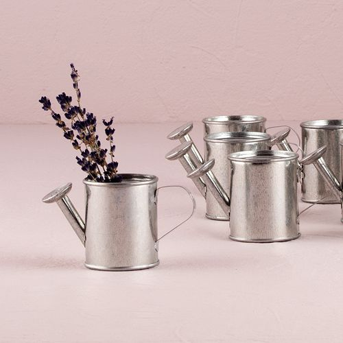 Mini Watering Cans, Wedding Favors, Bridal Showers -  SO CUTE