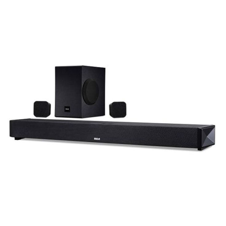 RCA RTS739BWS 5.1 Channel Sound Bar System with Bluetooth - Refurbished