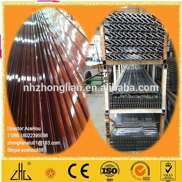 WOW!!!Best selling products 2014 certificated rectangular super enameled aluminium price per kg /triangle tube /circle poles alu