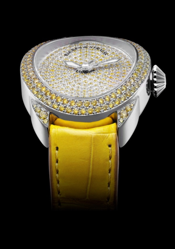 The Regent Fancy Canary - the perfect fit for this Royal sporting event celebrating the best of British Culture - Discover more on www.backesandstrauss.com