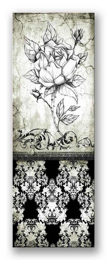 Cuadro Rose Vintage II_B