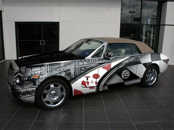 gumball 3000 car wrap by 42concepts car wrap design ideas