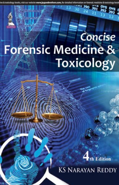 Concise Forensic Medicine & Toxicology - 4th edition --- mebooksfree.com