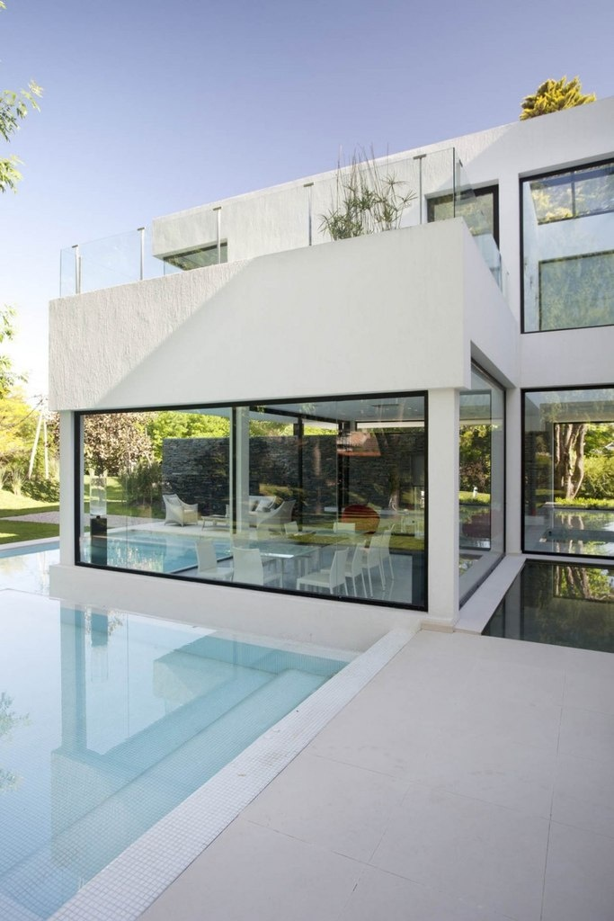 Modern house in Argentina
