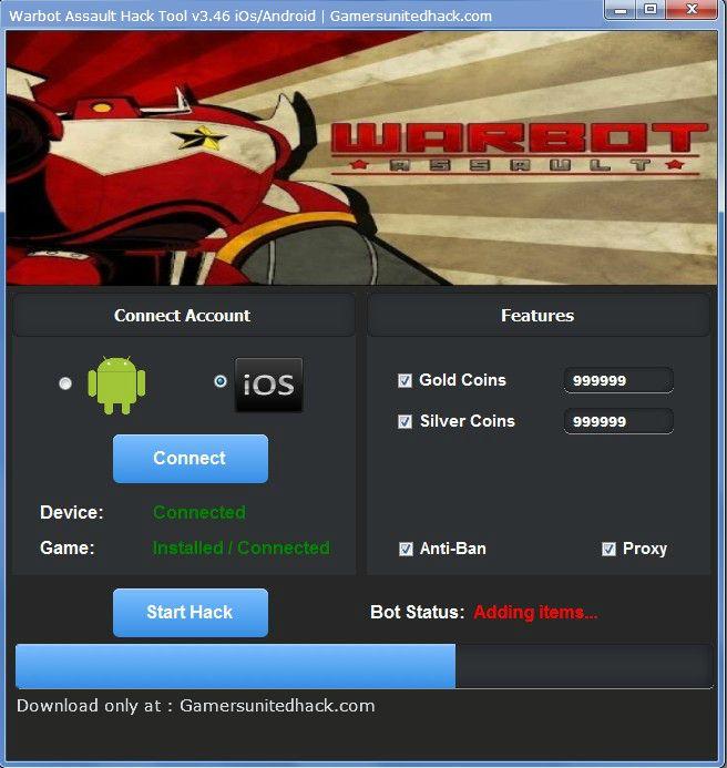 Warbot Assault Hack Tool